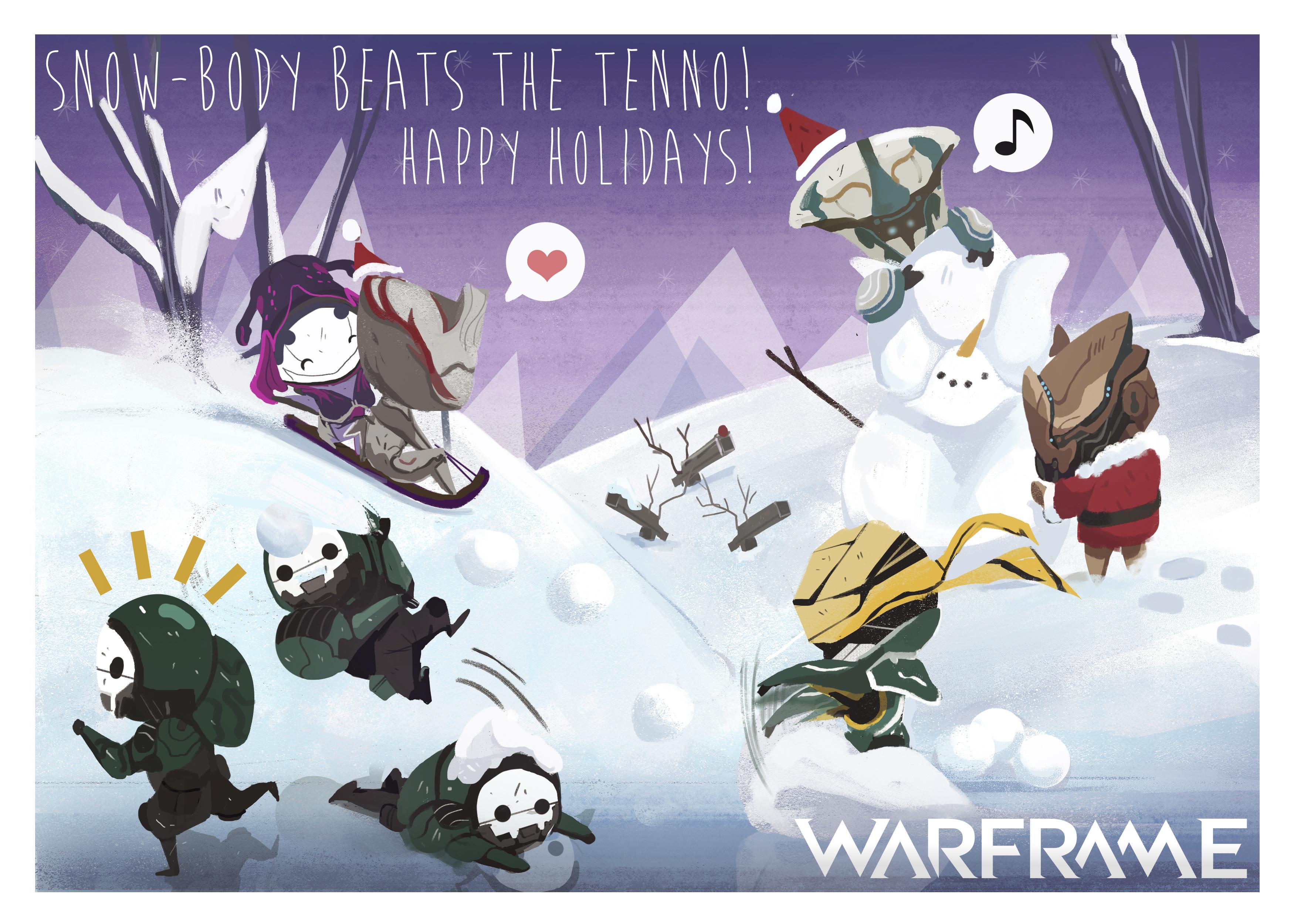 Vánoční přání z herního světa 117568