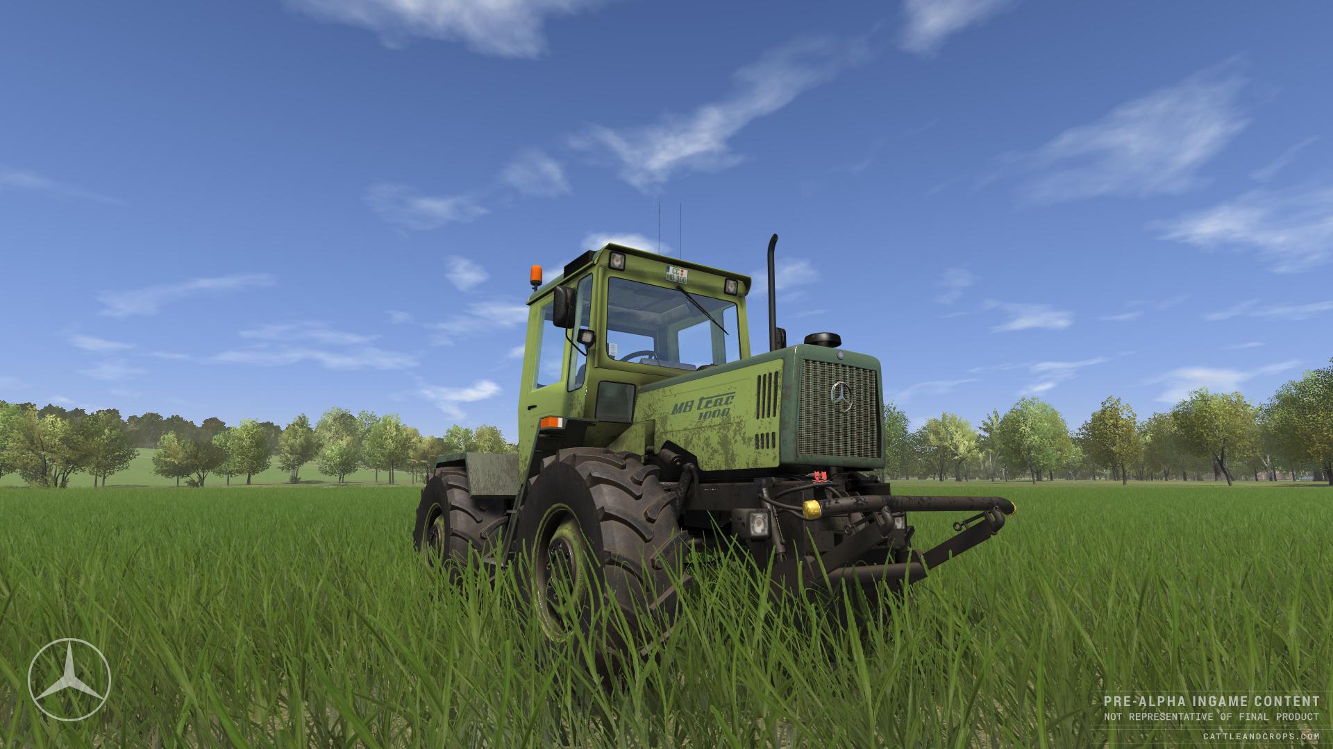 Dva obrázky ze simulátoru Cattle and Crop 117605