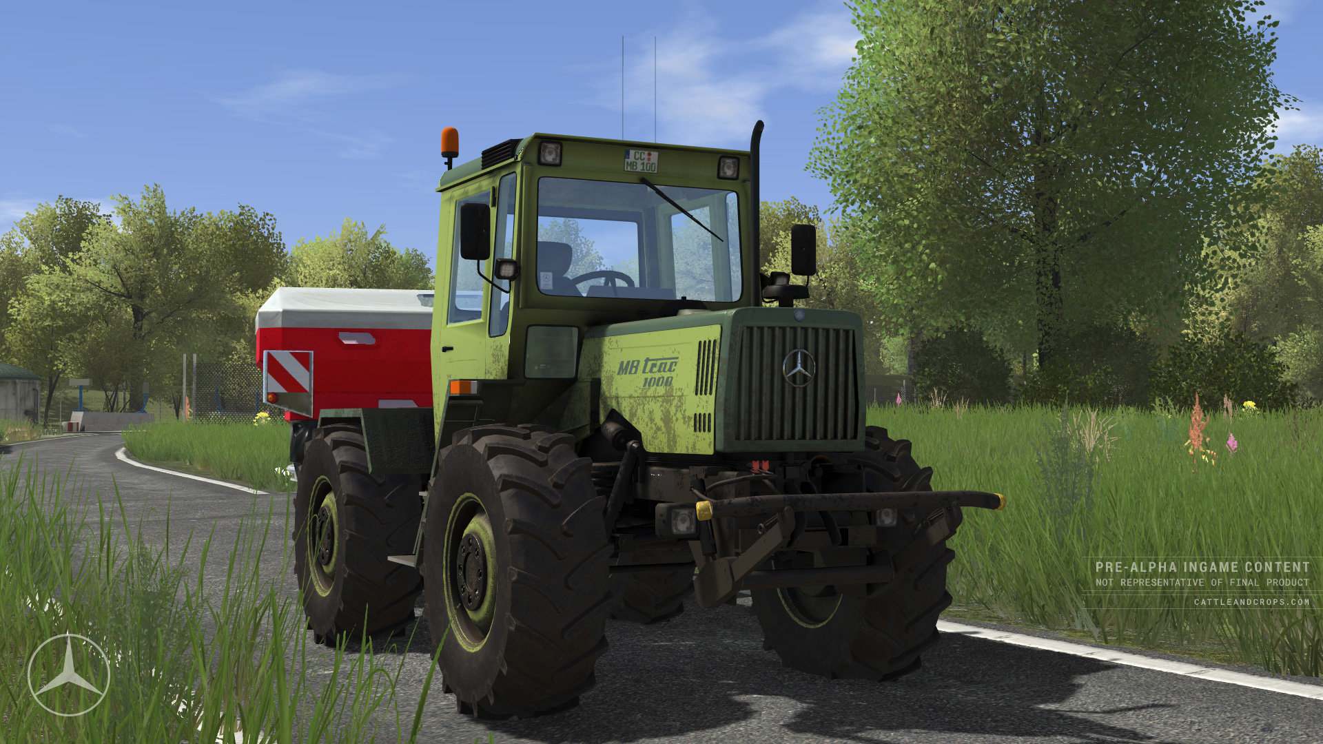 Dva obrázky ze simulátoru Cattle and Crop 117606