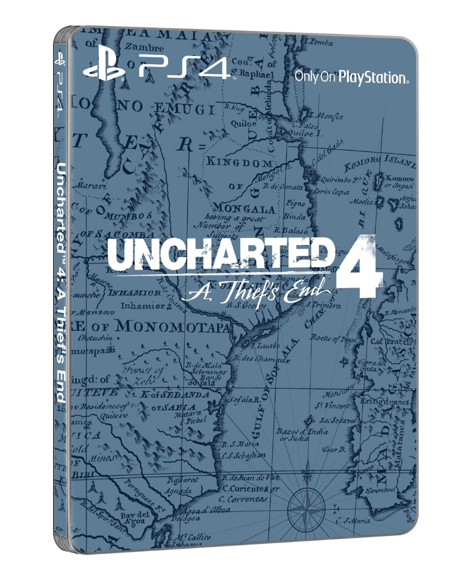 Steelbook pro fanoušky Uncharted 4: A Thief´s End 117723
