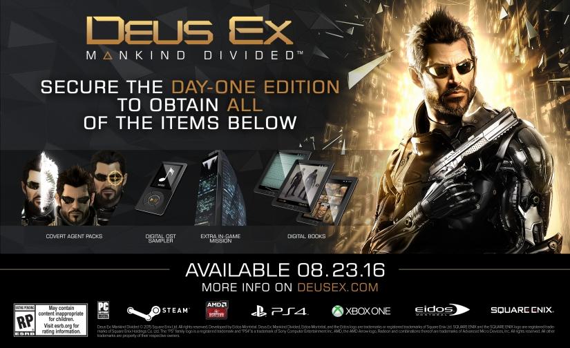 Kolik bude stát sběratelská edice Deus Ex: Mankind Divided? 117933