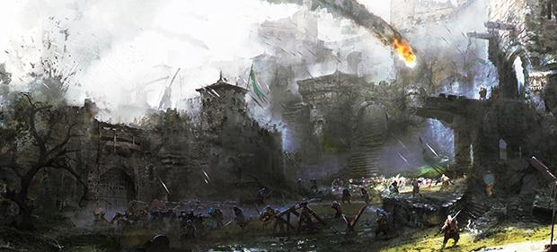 Zákulisí vývoje For Honor: Návrh mapy Citadel Gate 118046