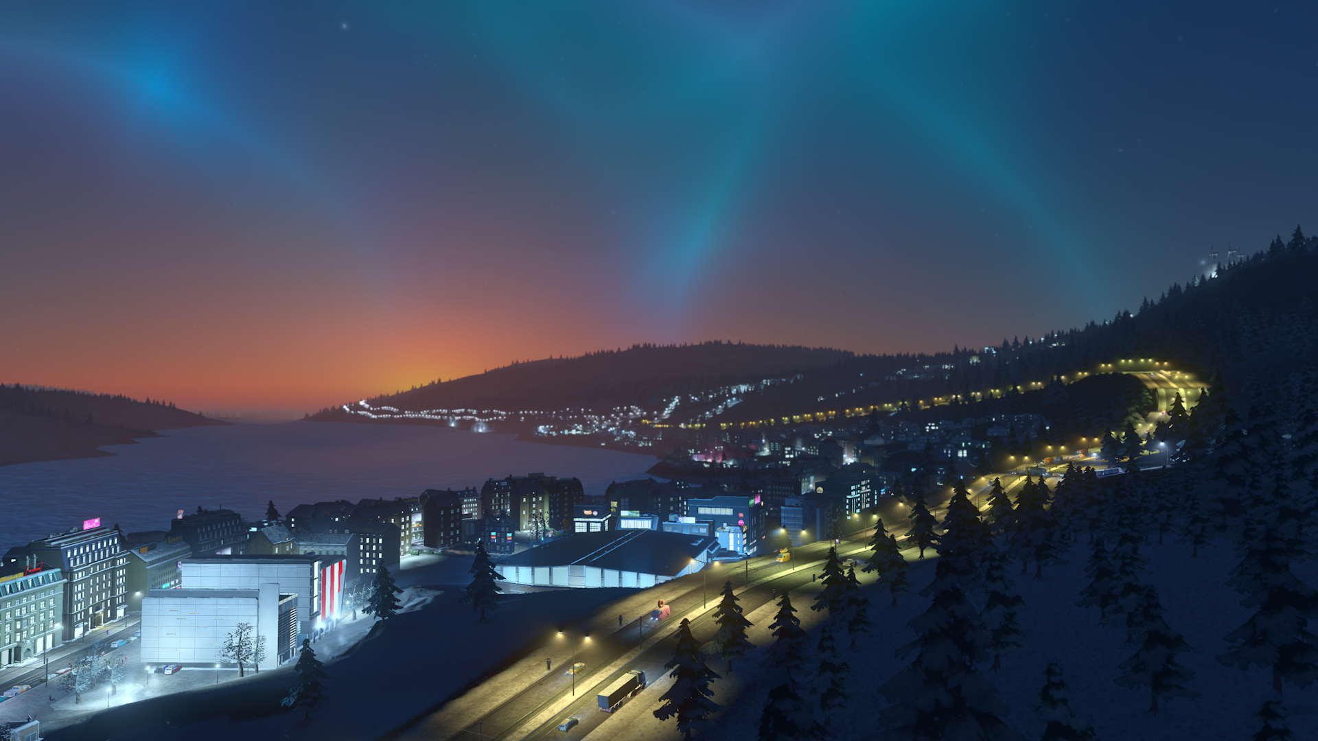 V Cities: Skylines začne sněžit 118156