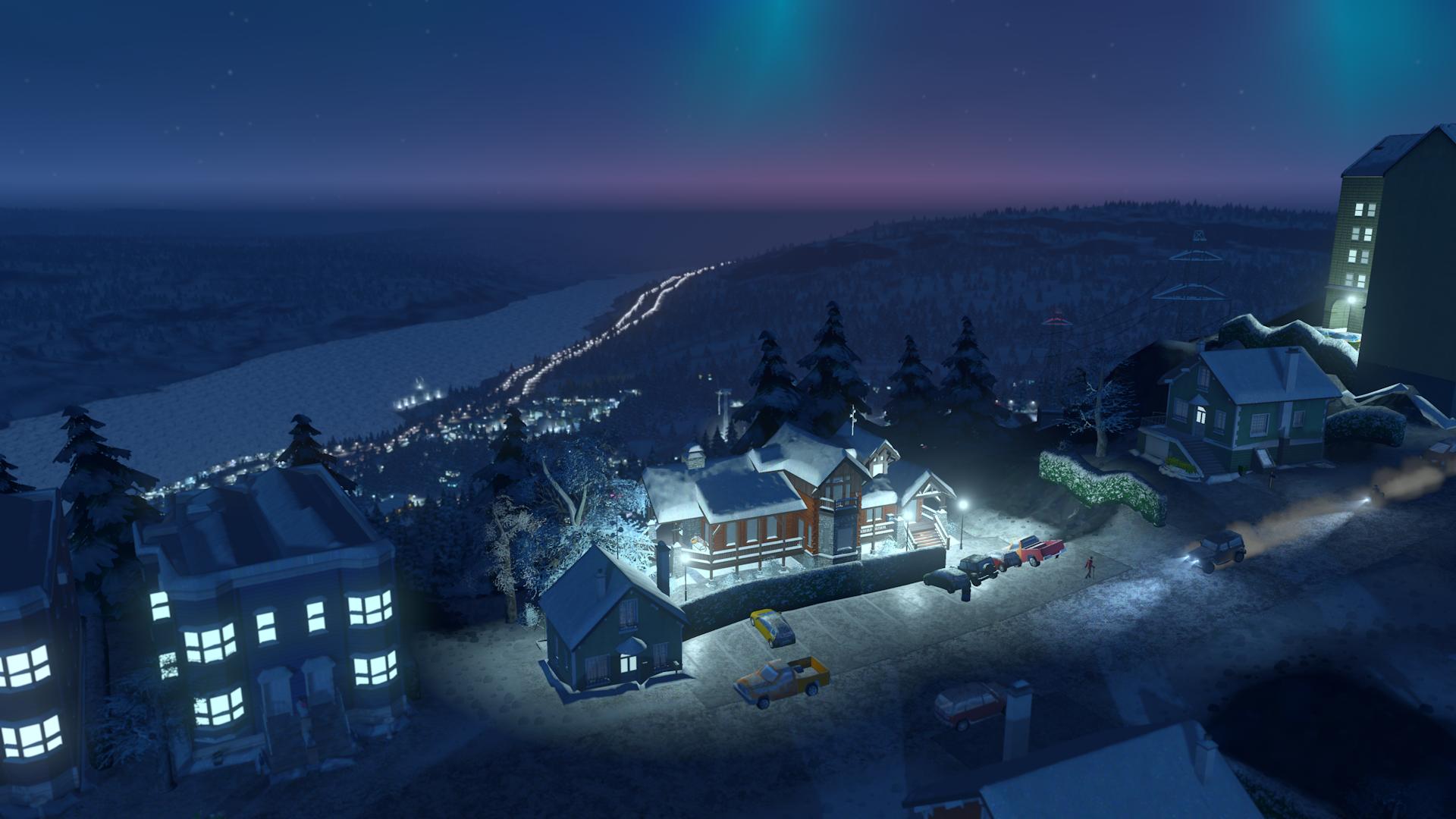 V Cities: Skylines začne sněžit 118157