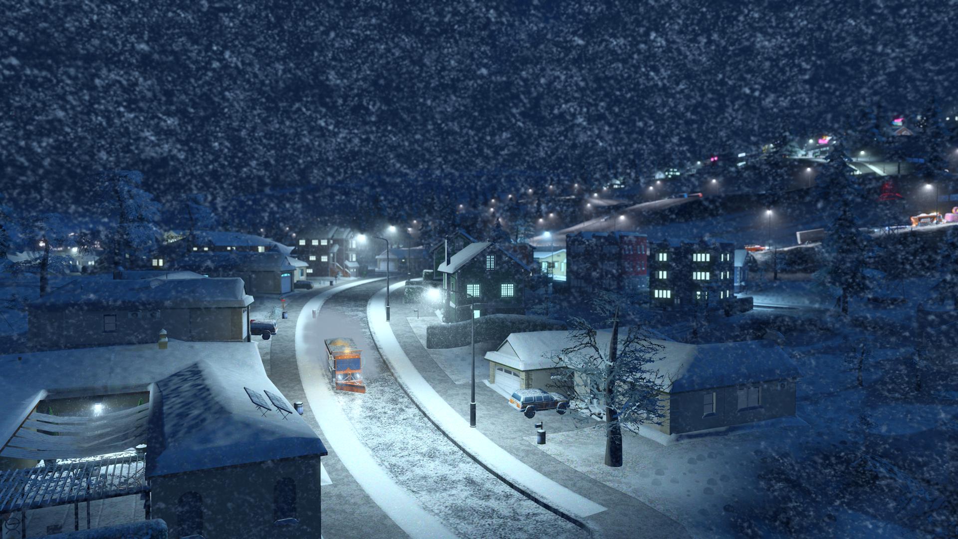 V Cities: Skylines začne sněžit 118161