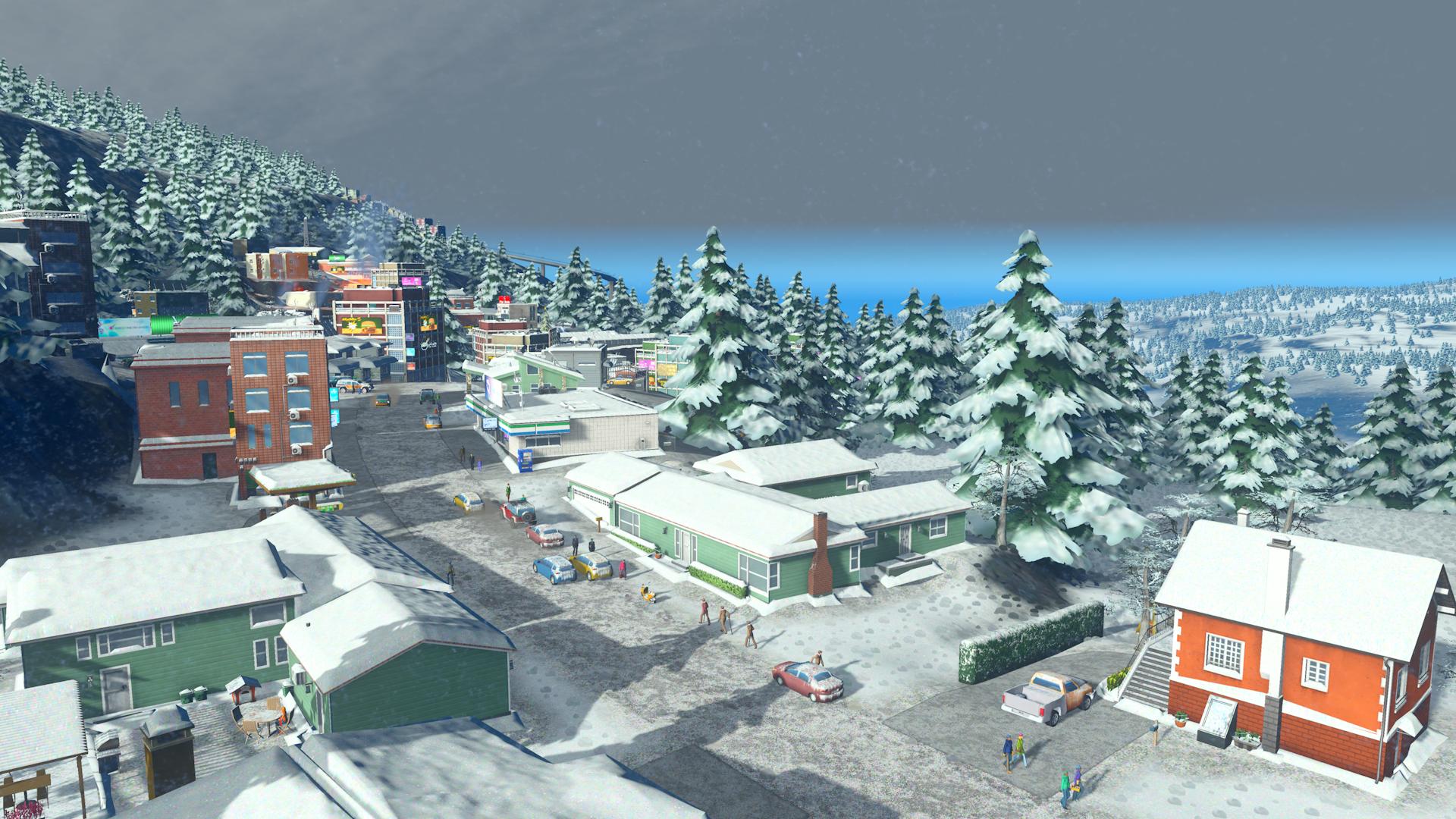 V Cities: Skylines začne sněžit 118166