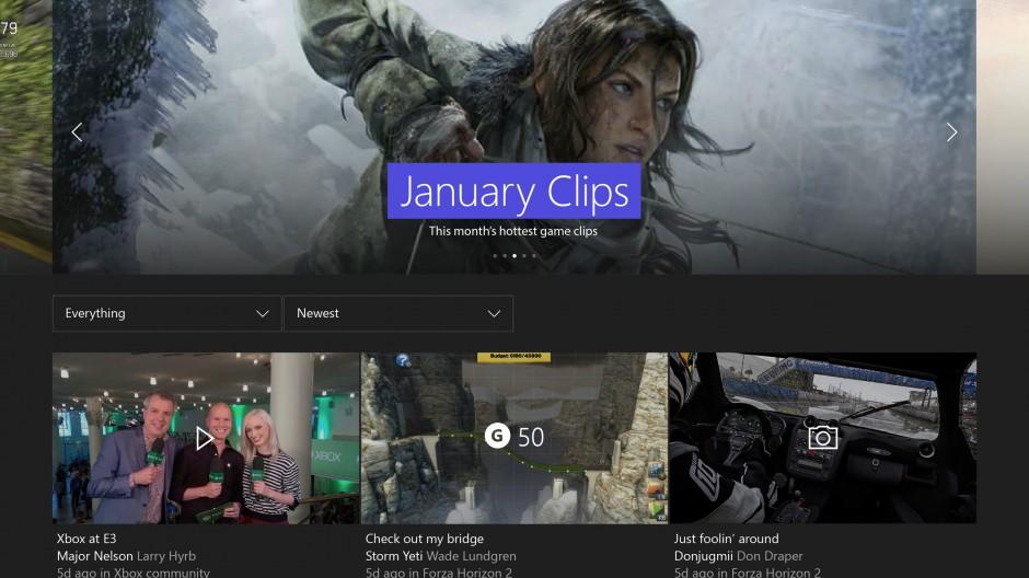 Microsoft odhalil první update Xboxu One v novém roce 118171