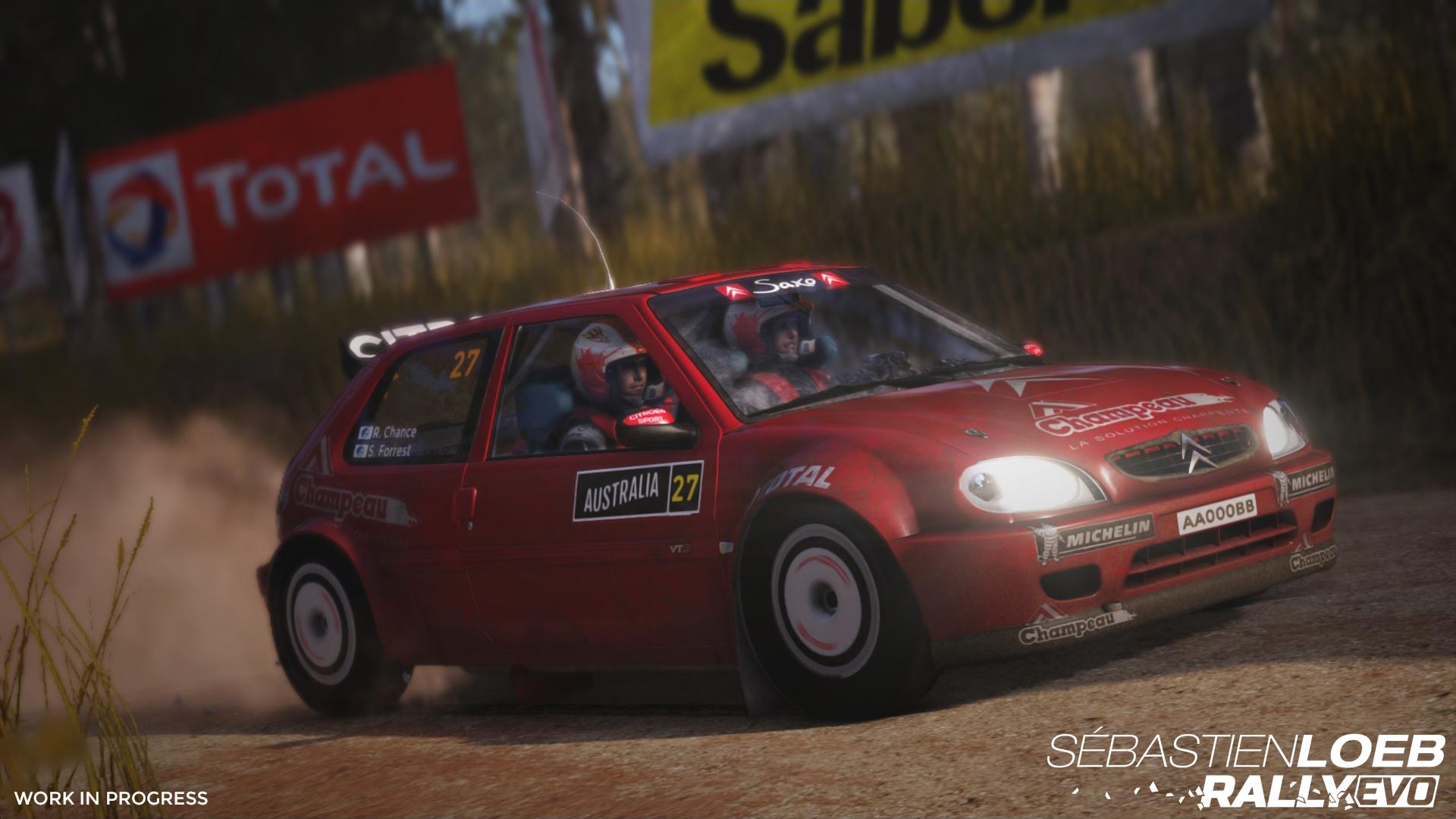 Nové obrázky ze závodů Sébastien Loeb Rally 118181