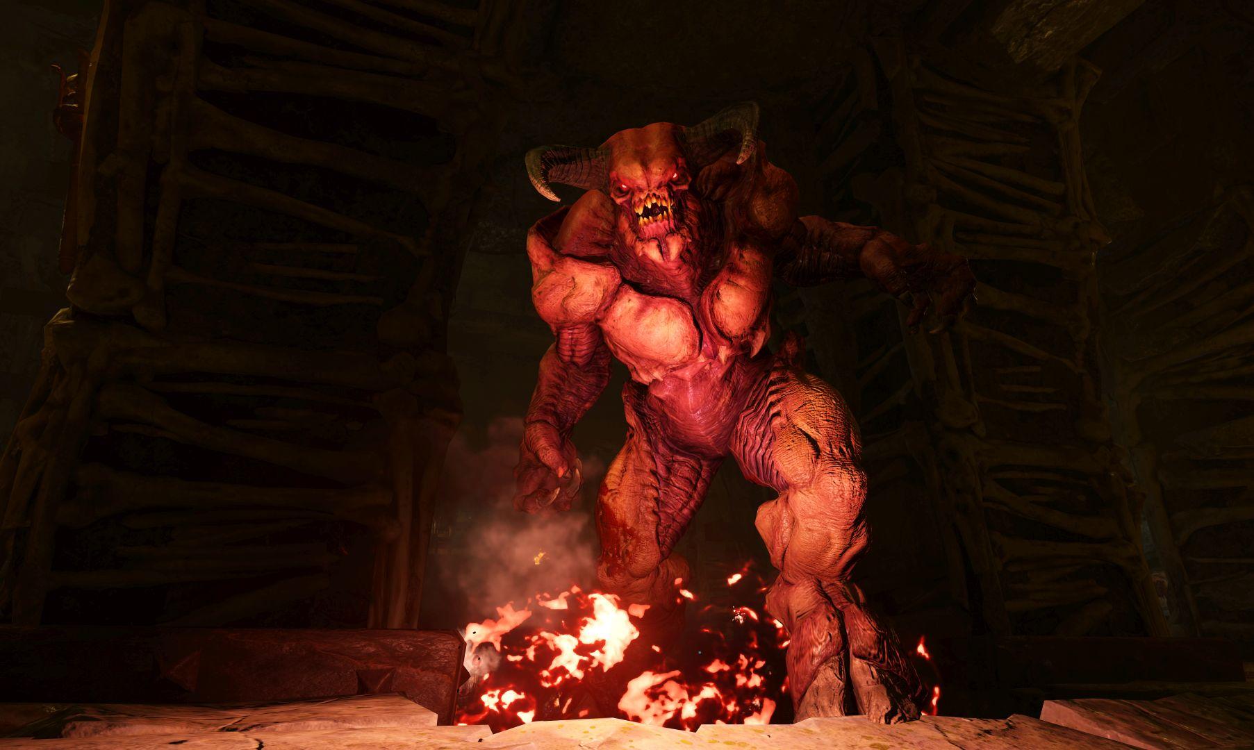 Monstra z pekla v galerii z nového Dooma 118305
