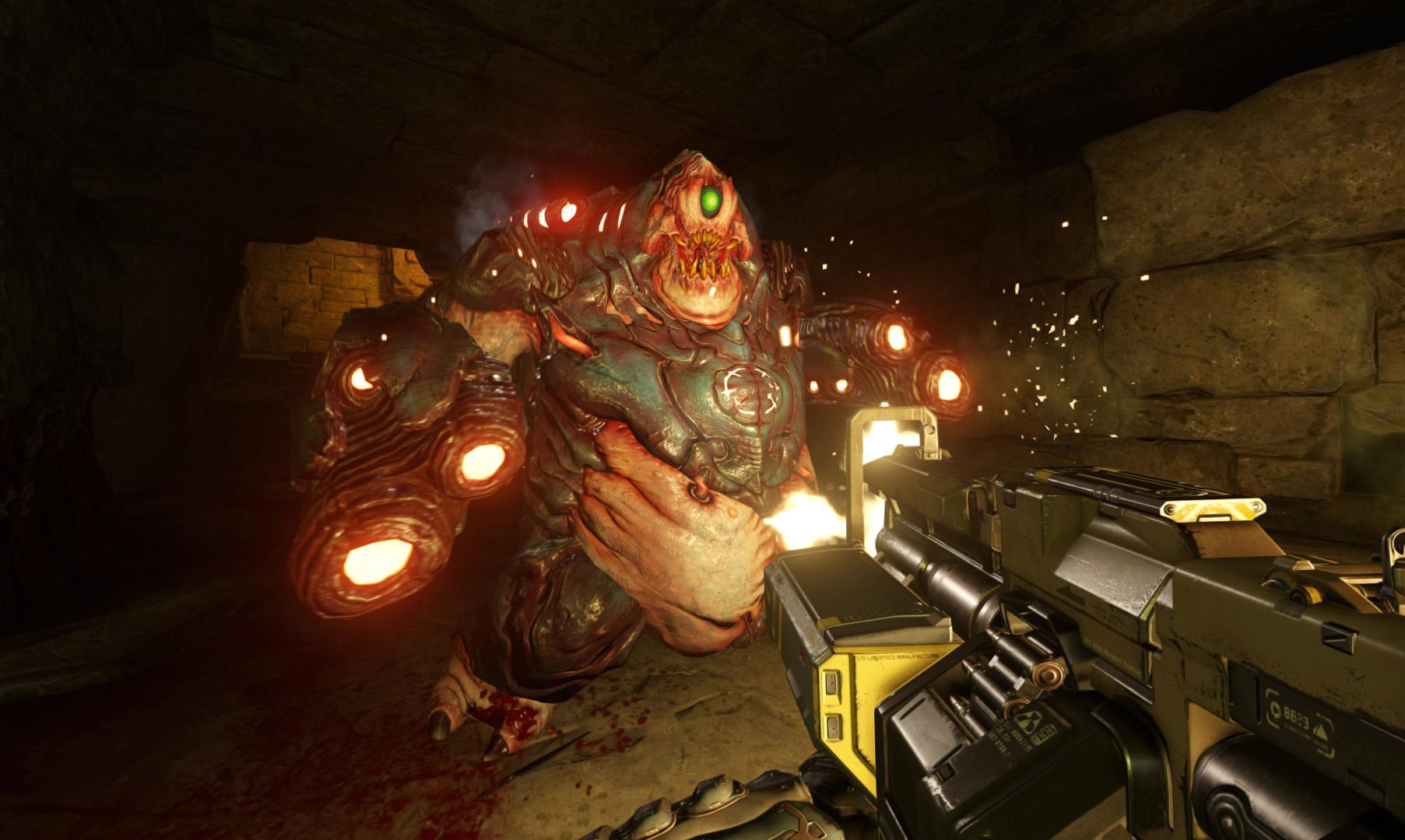 Monstra z pekla v galerii z nového Dooma 118306
