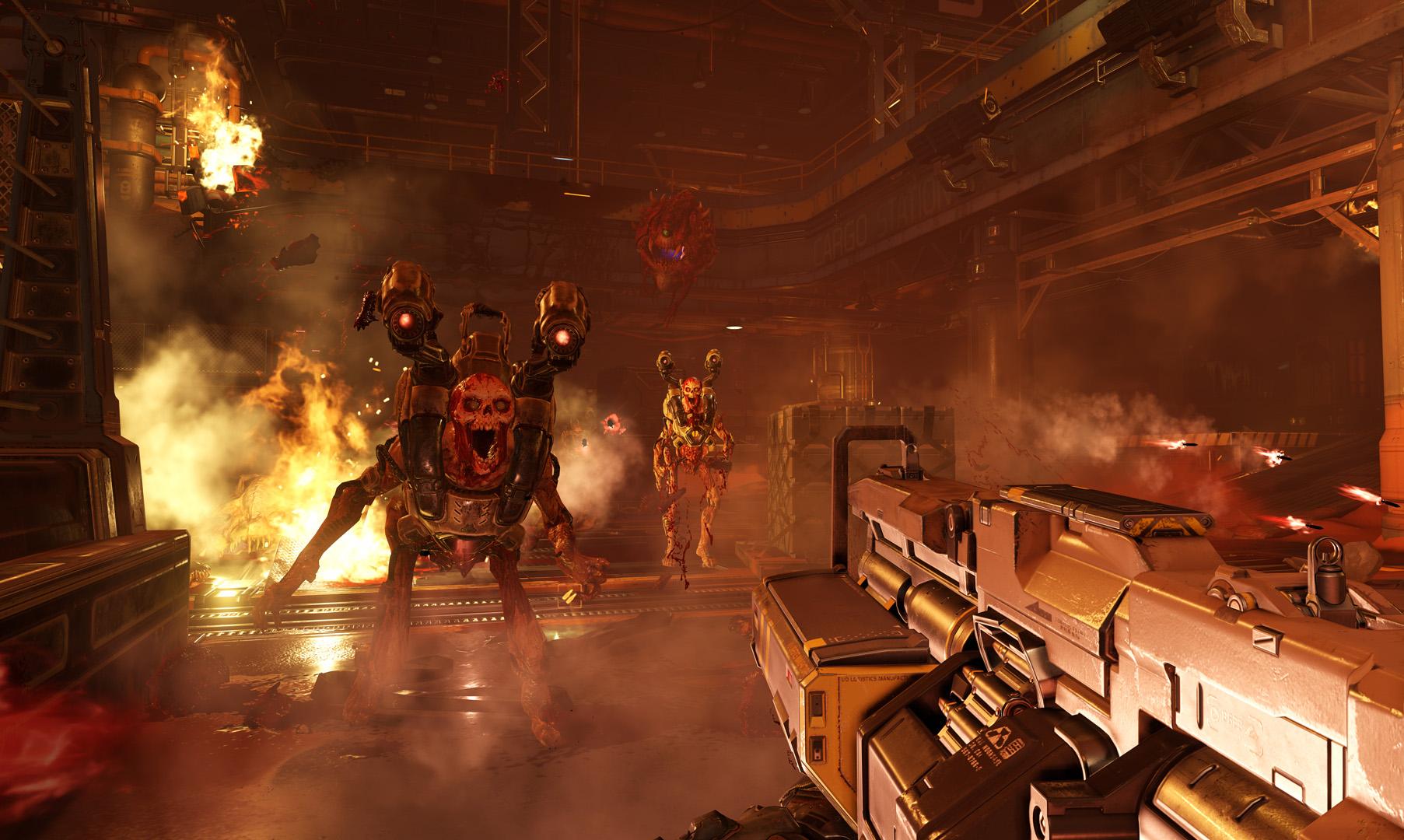 Monstra z pekla v galerii z nového Dooma 118308