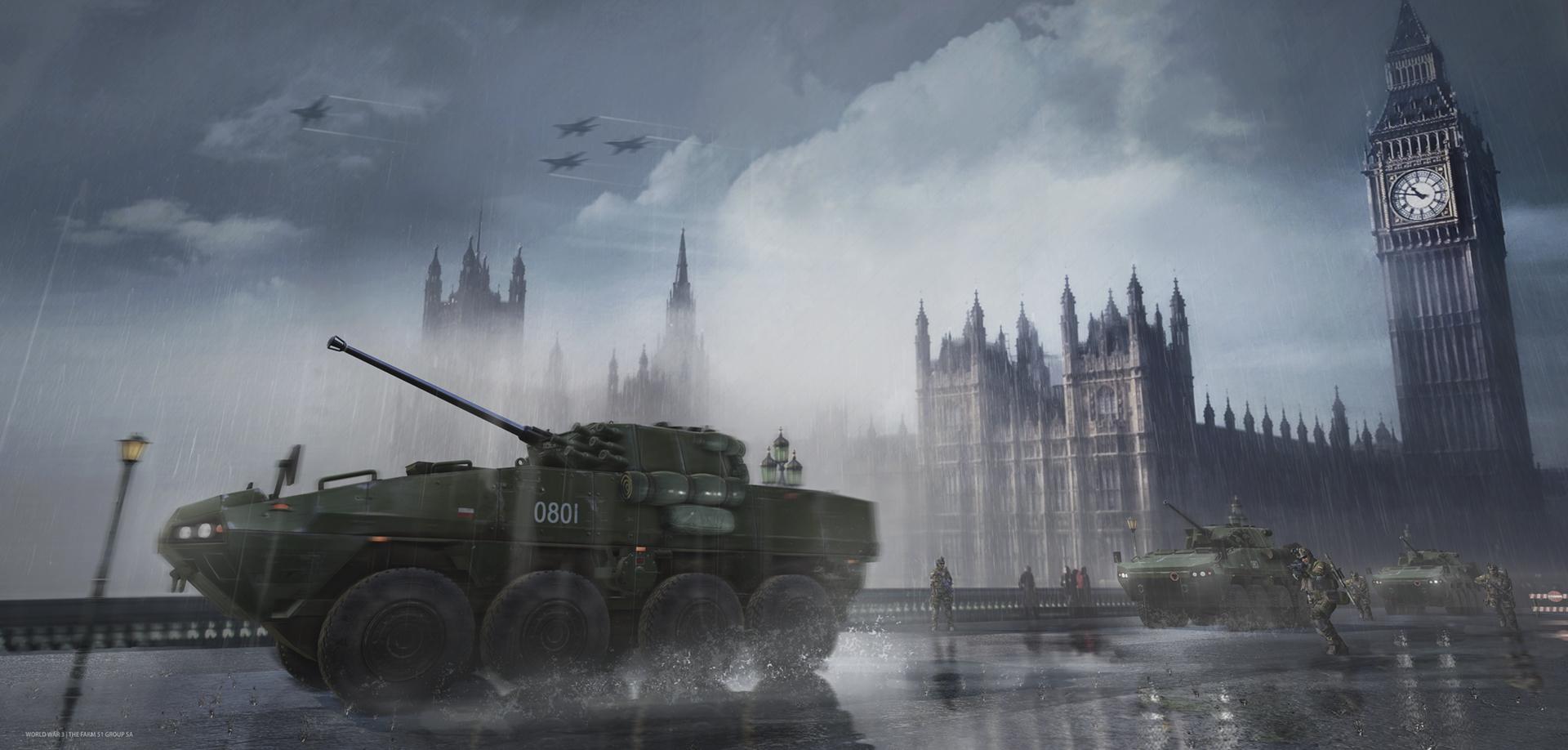 S vojenskou akcí World War 3 se podíváme do Berlína i Paříže 118341