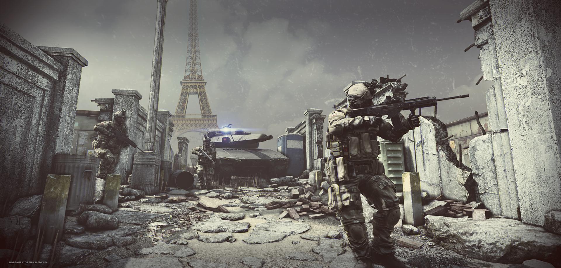 S vojenskou akcí World War 3 se podíváme do Berlína i Paříže 118342
