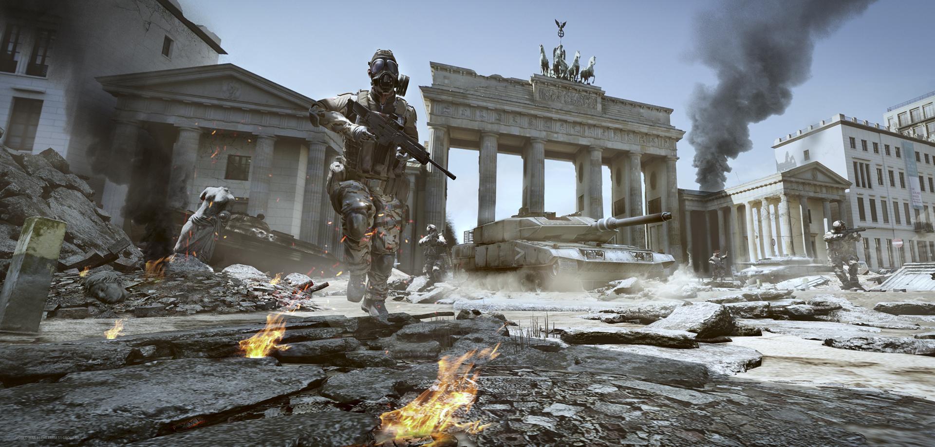 S vojenskou akcí World War 3 se podíváme do Berlína i Paříže 118343