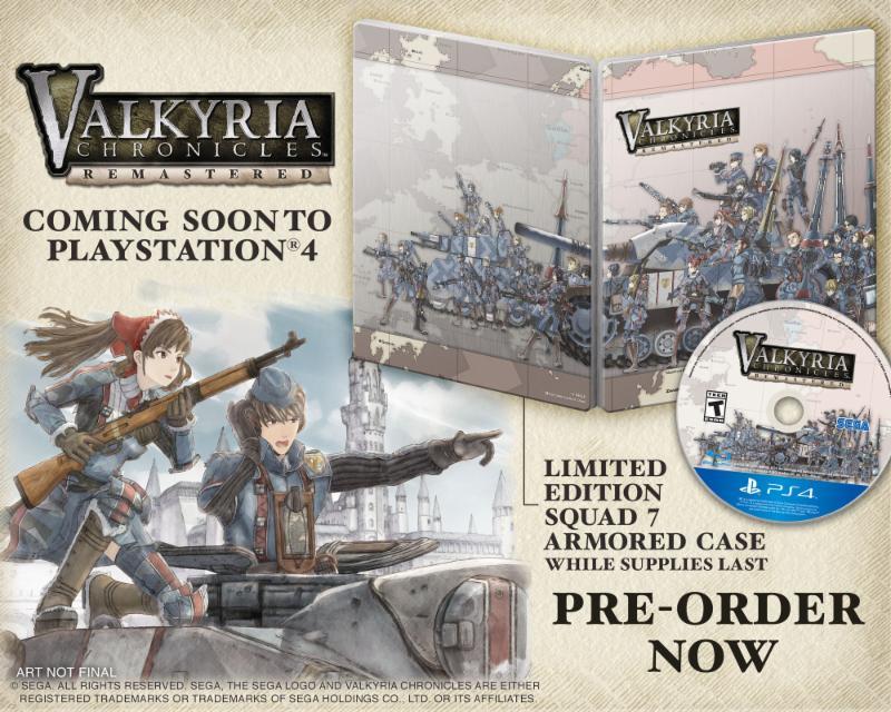 Valkyria Chronicles Remastered dorazí letos na jaře 118379