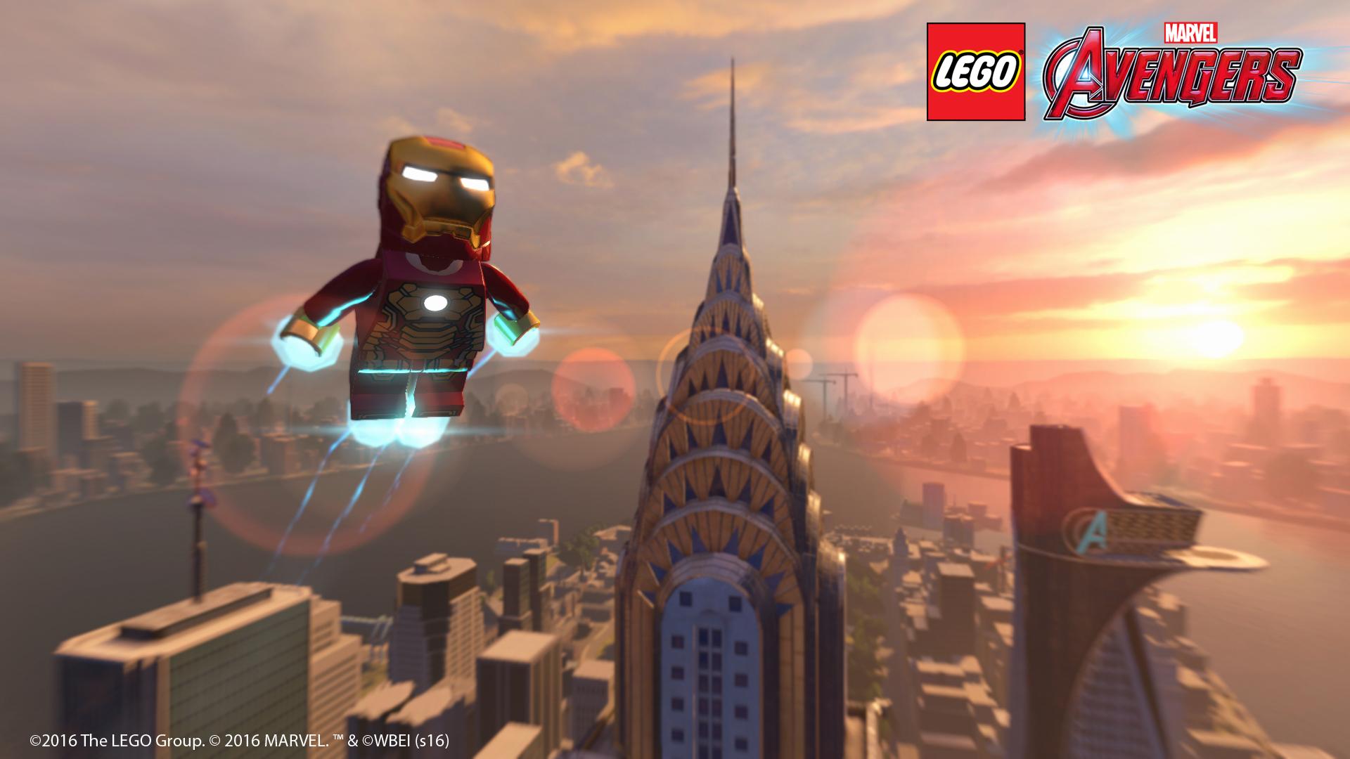 Launch trailer LEGO Marvel's Avengers 118443