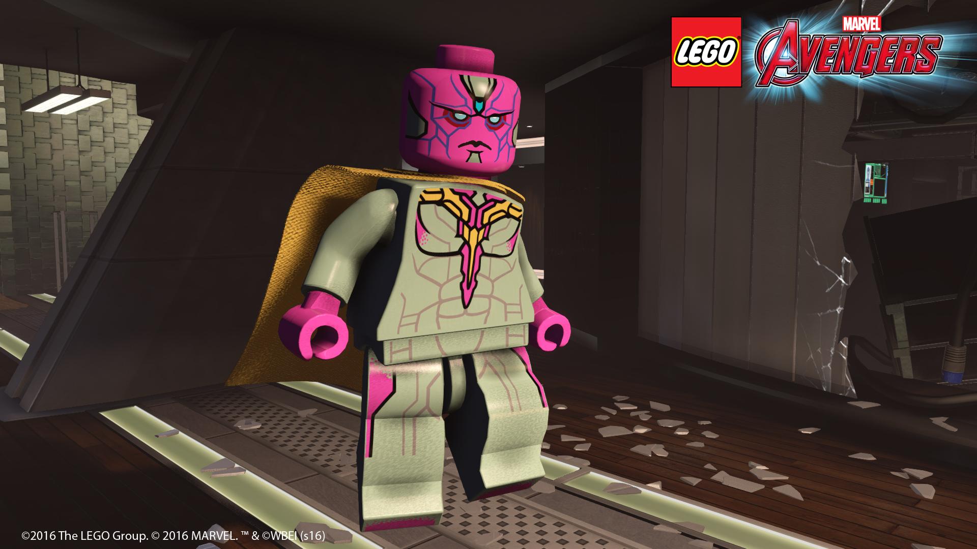 Launch trailer LEGO Marvel's Avengers 118448