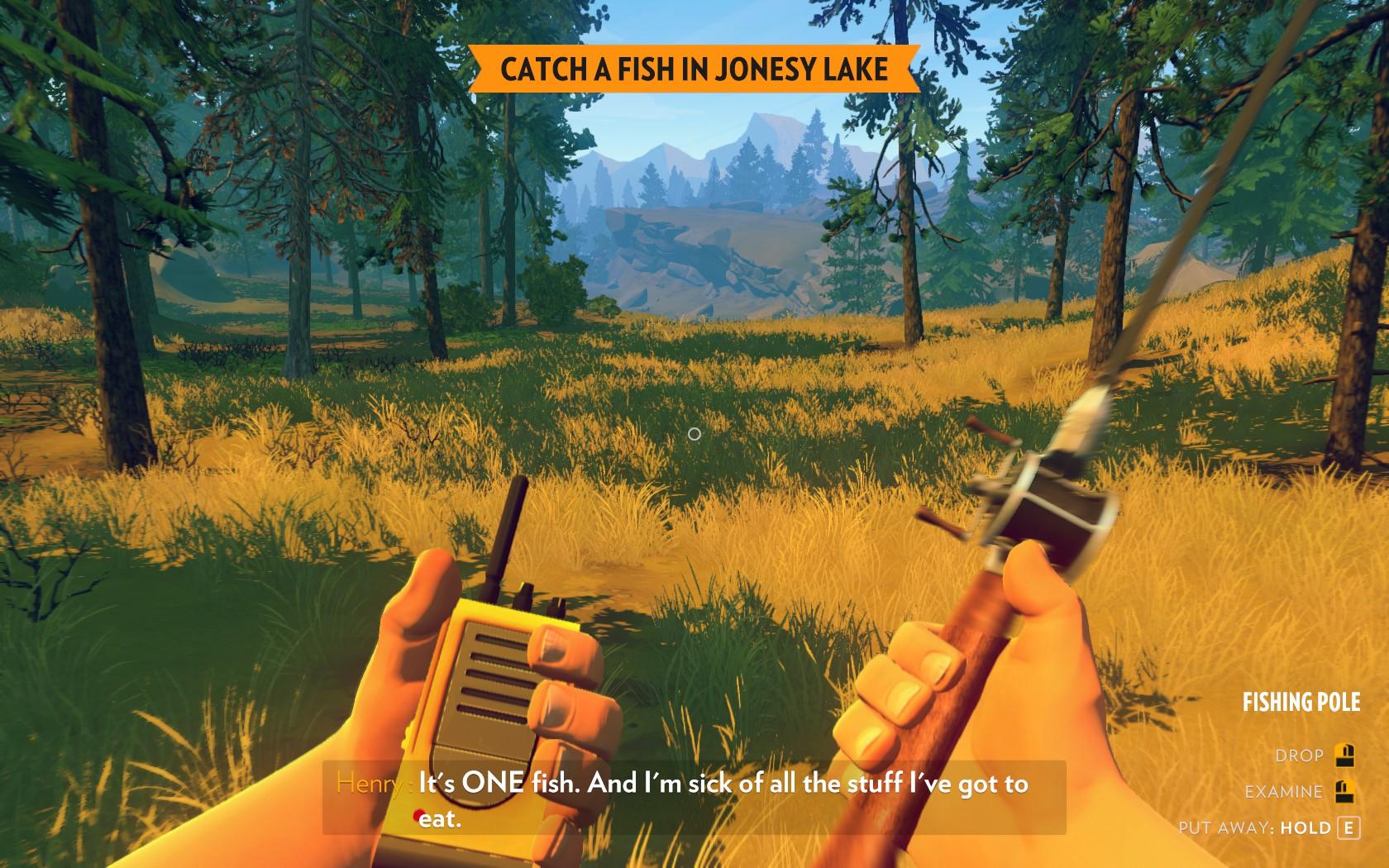 Firewatch - kdo se bojí, nesmí hrát 119095