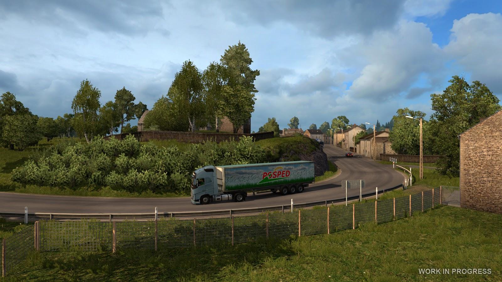 Euro Truck Simulator 2 míří do Francie 119537