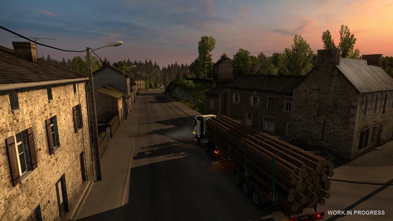 Euro Truck Simulator 2 míří do Francie 119538