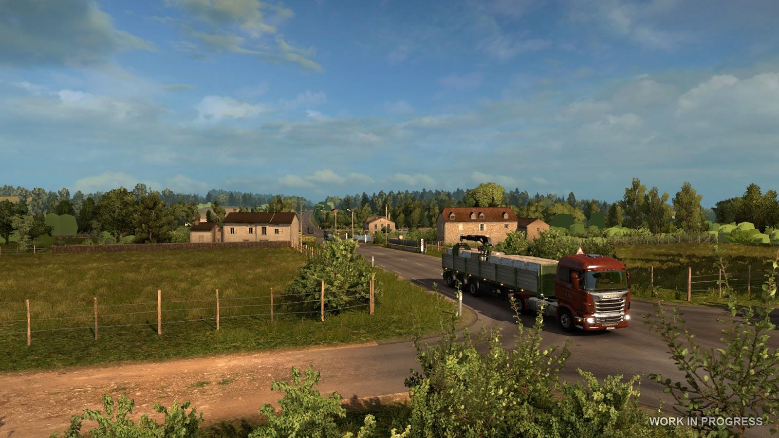 Euro Truck Simulator 2 míří do Francie 119539
