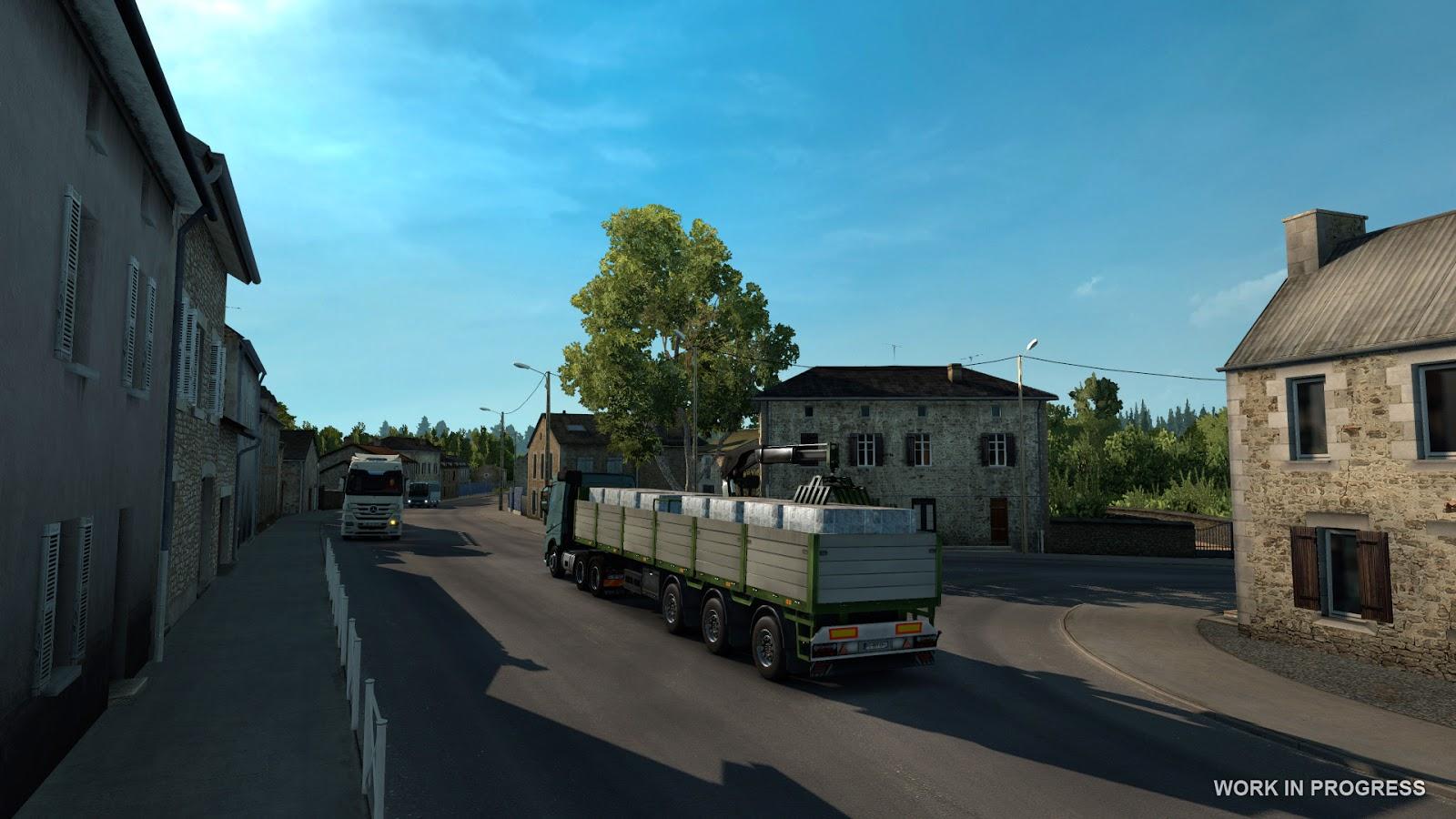 Euro Truck Simulator 2 míří do Francie 119540