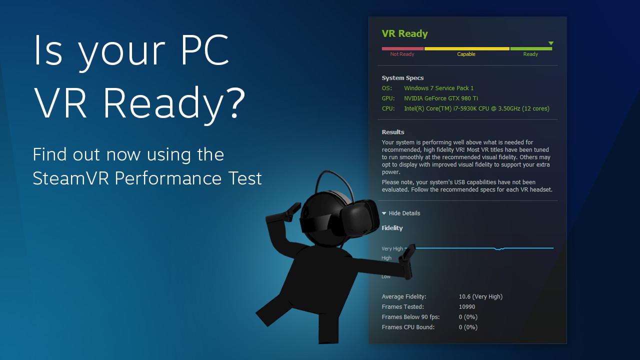 Vyzkoušejte si, jestli vaše PC stačí na virtuální realitu od Valve a HTC 119703