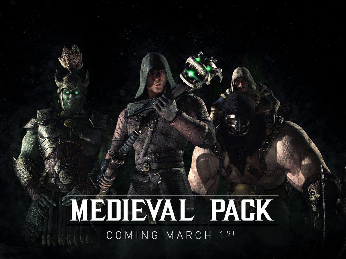 Středověké skiny zdarma do Mortal Kombat X 119836