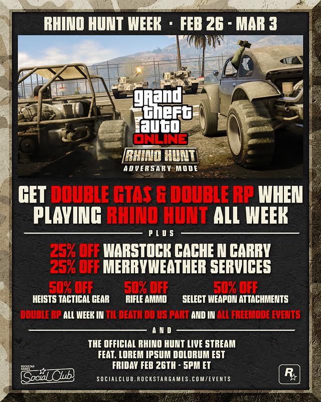 Buginy vs. tanky v novém módu GTA Online 119932
