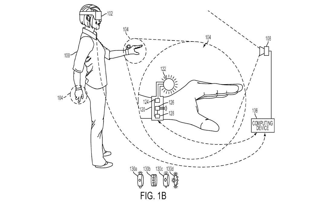 Tři patenty Sony na speciální rukavice pro PS VR 119966