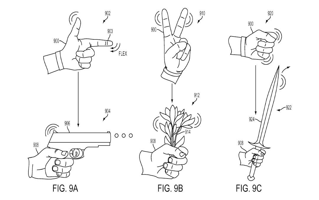 Tři patenty Sony na speciální rukavice pro PS VR 119967