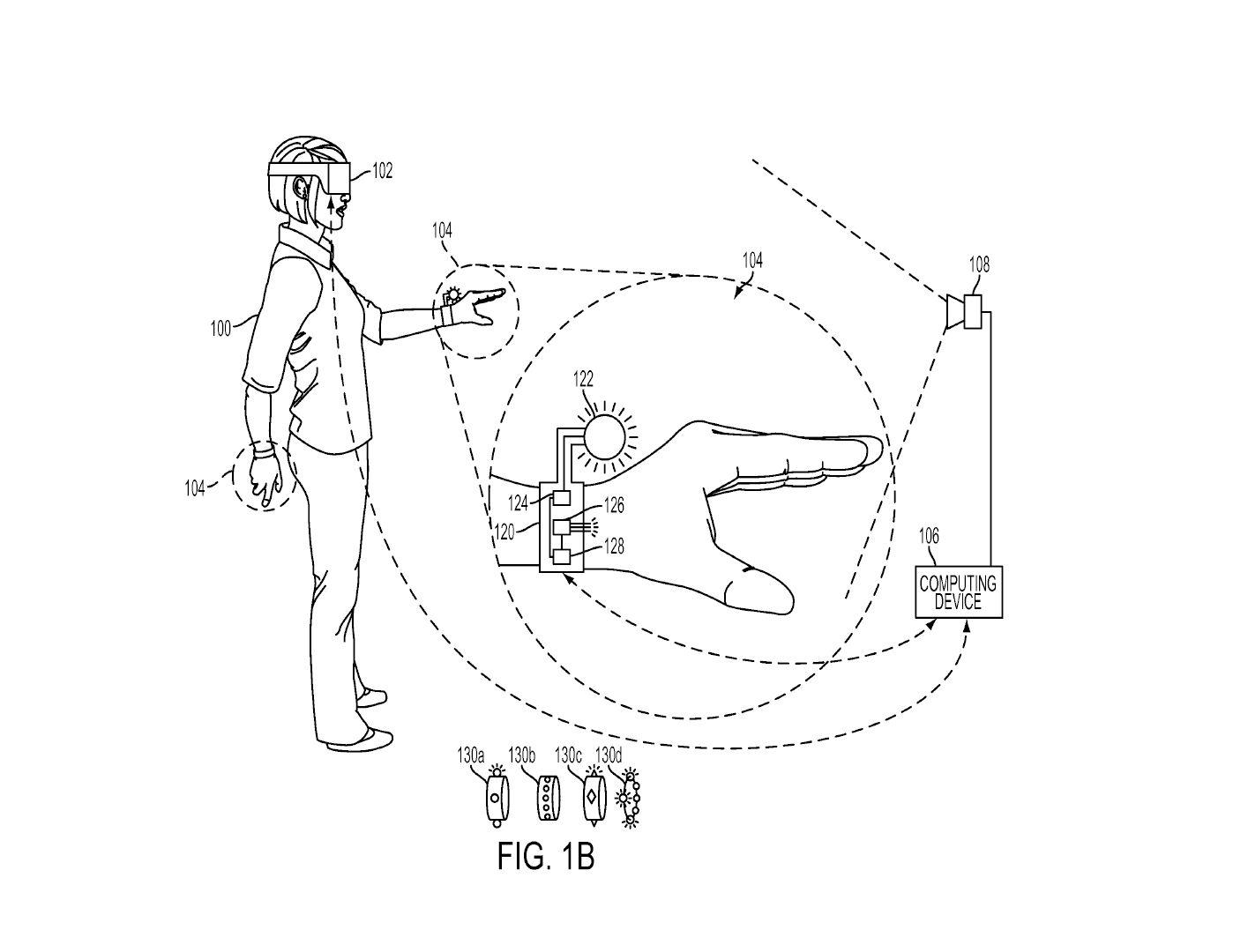 Tři patenty Sony na speciální rukavice pro PS VR 119969