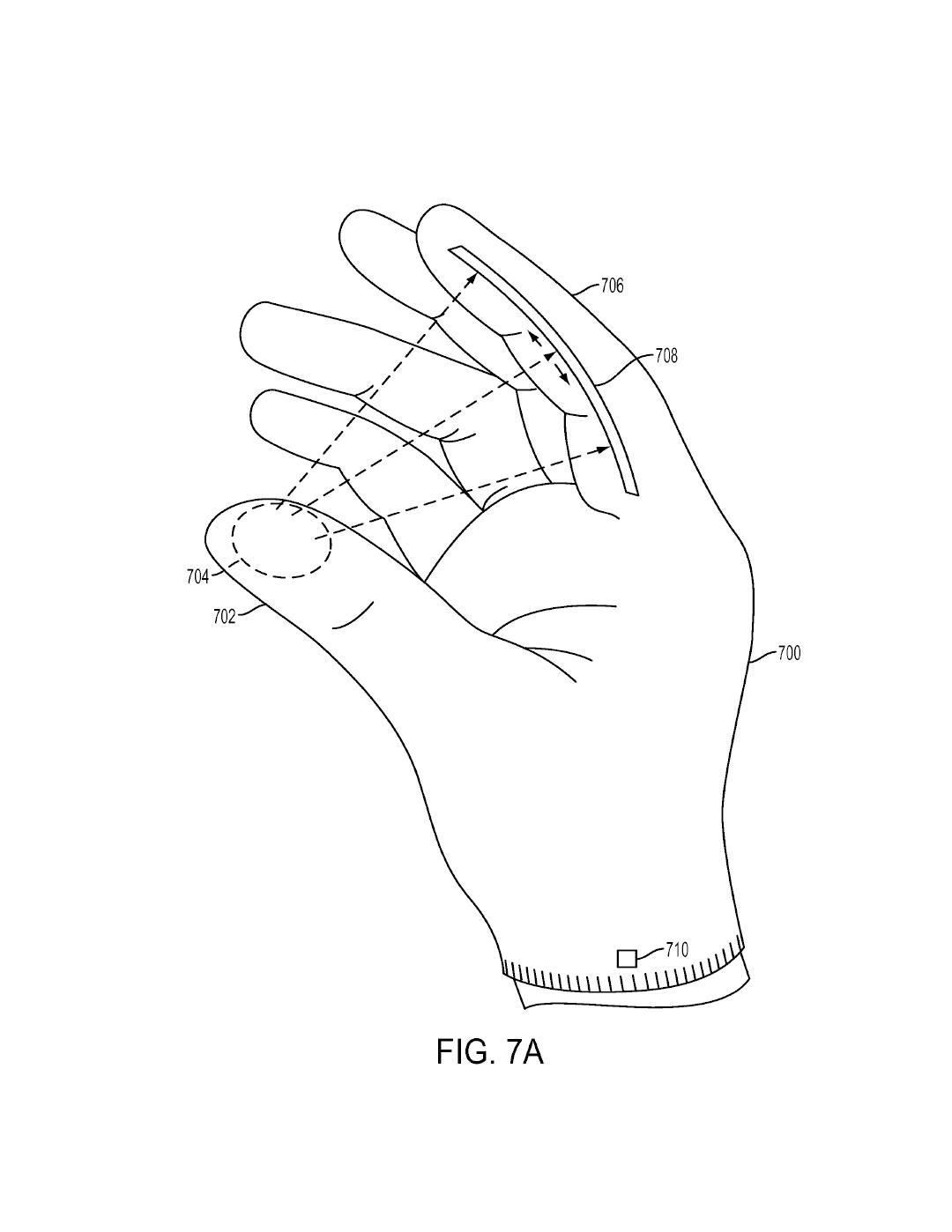 Tři patenty Sony na speciální rukavice pro PS VR 119981