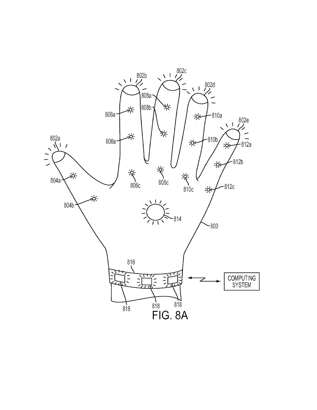 Tři patenty Sony na speciální rukavice pro PS VR 119986