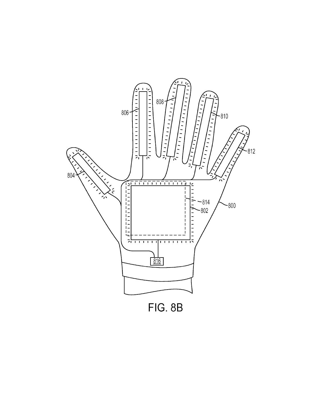 Tři patenty Sony na speciální rukavice pro PS VR 119987