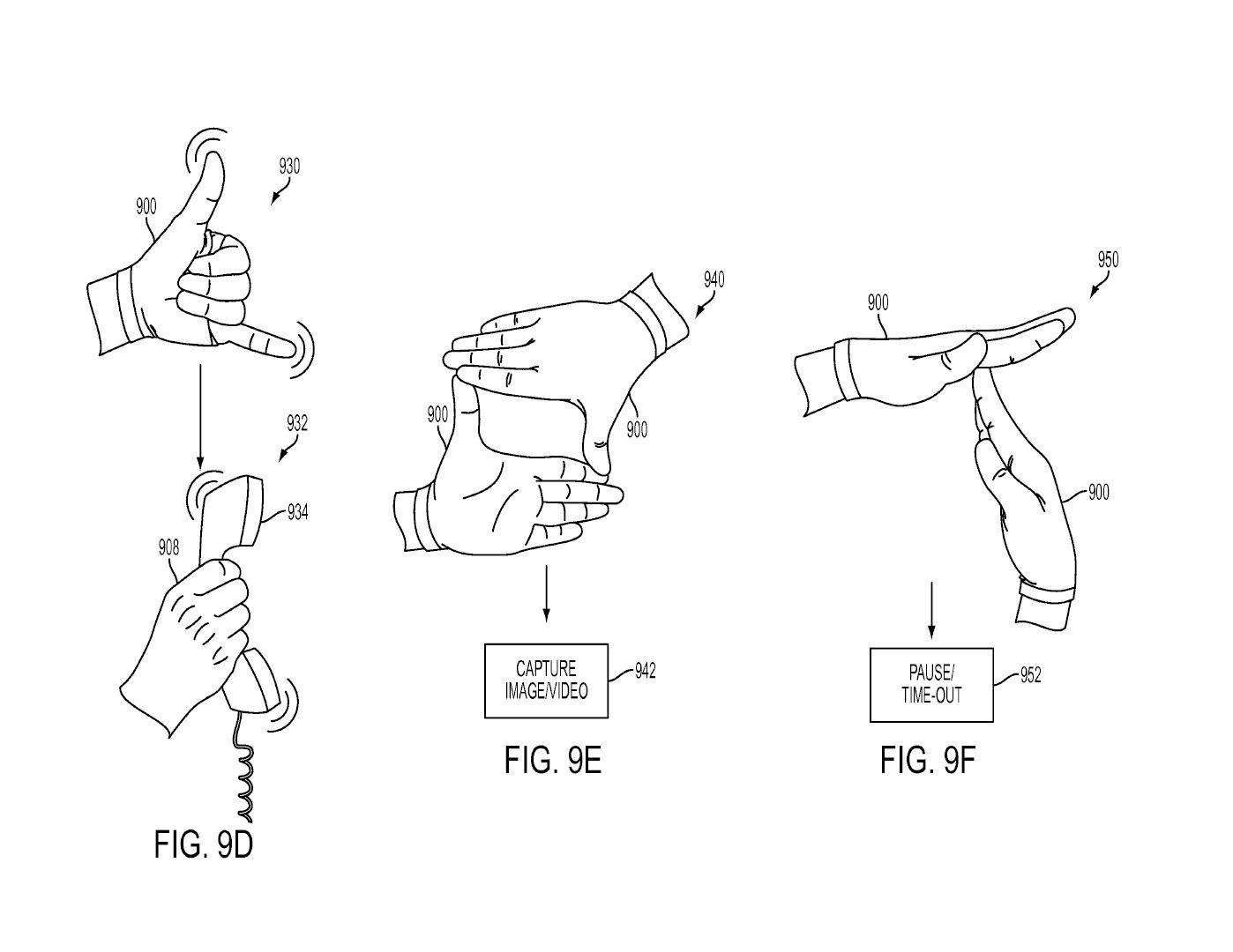 Tři patenty Sony na speciální rukavice pro PS VR 119989