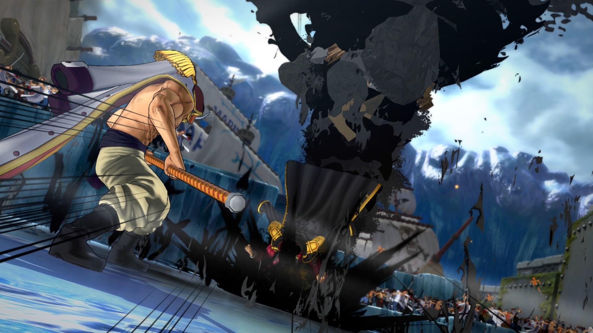 Ukázka hraní za Marshalla D. Teache v One Piece: Burning Blood 120014