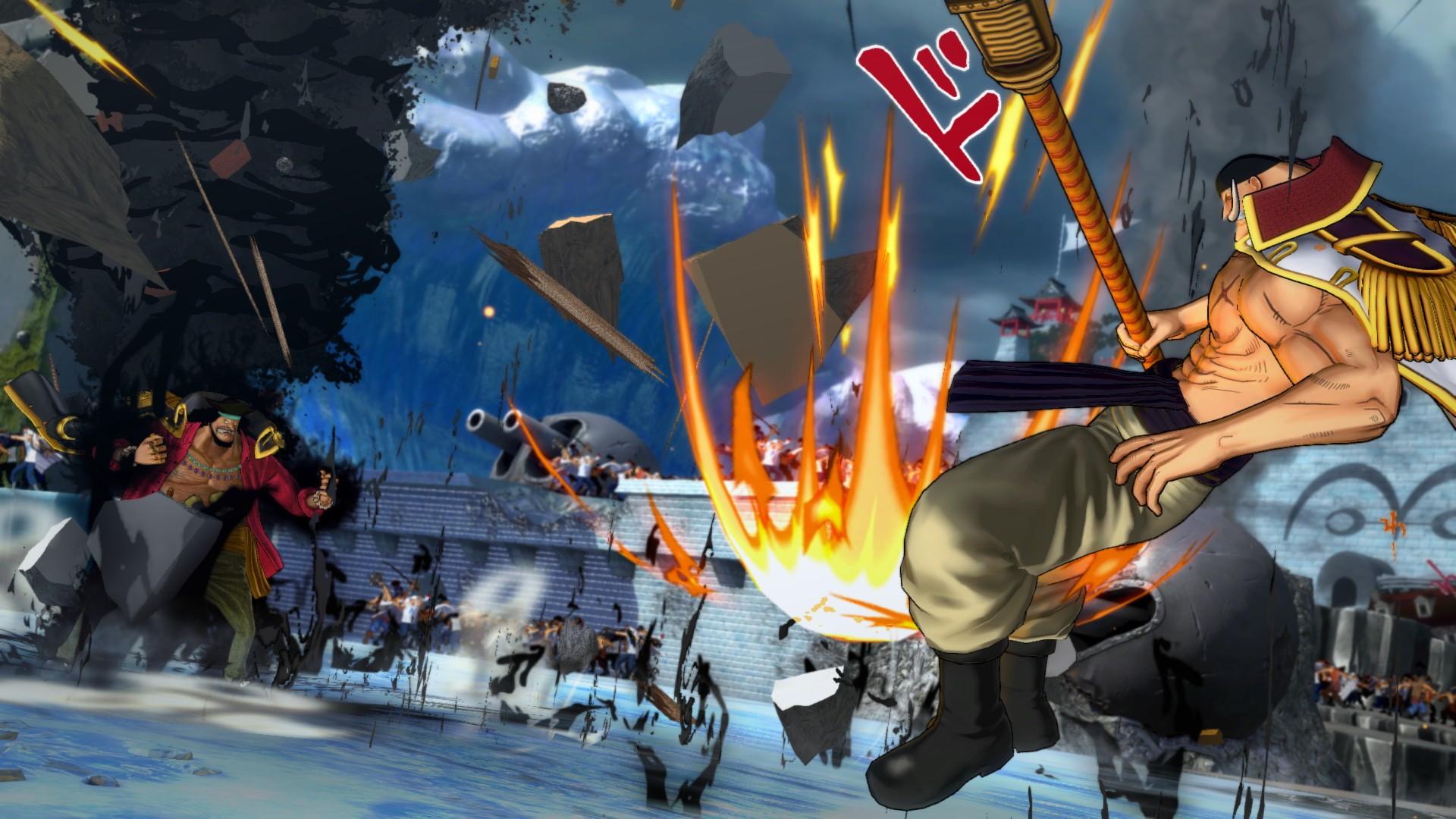 Ukázka hraní za Marshalla D. Teache v One Piece: Burning Blood 120015