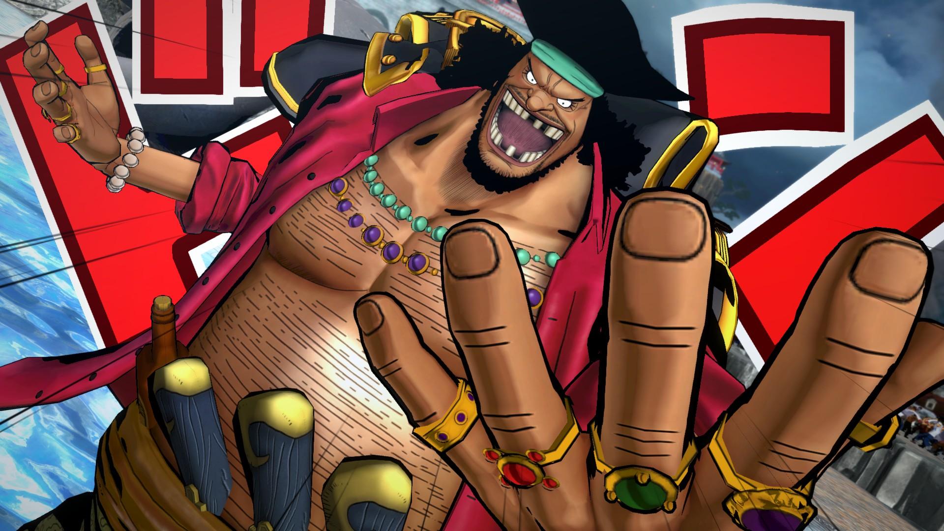 Ukázka hraní za Marshalla D. Teache v One Piece: Burning Blood 120016