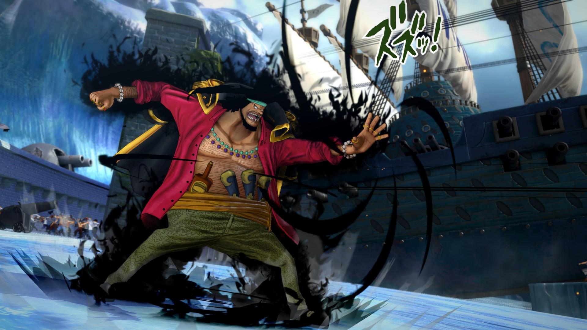 Ukázka hraní za Marshalla D. Teache v One Piece: Burning Blood 120018