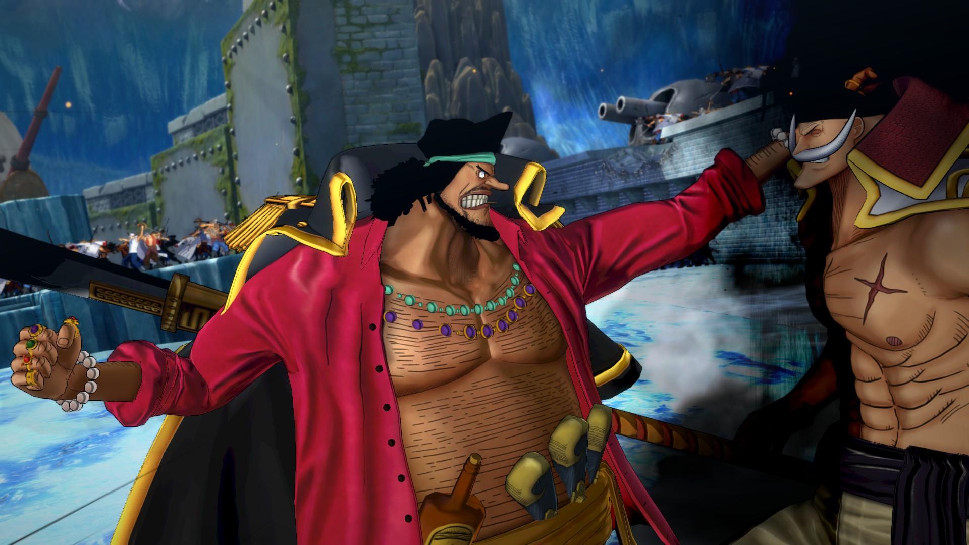 Ukázka hraní za Marshalla D. Teache v One Piece: Burning Blood 120020