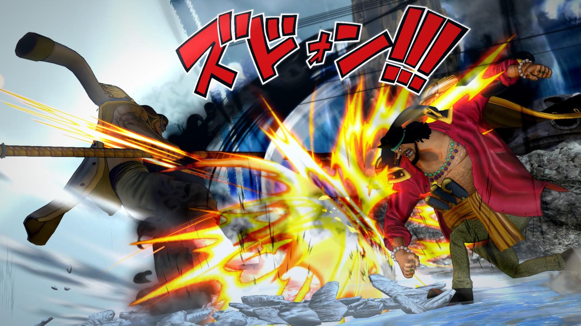 Ukázka hraní za Marshalla D. Teache v One Piece: Burning Blood 120022