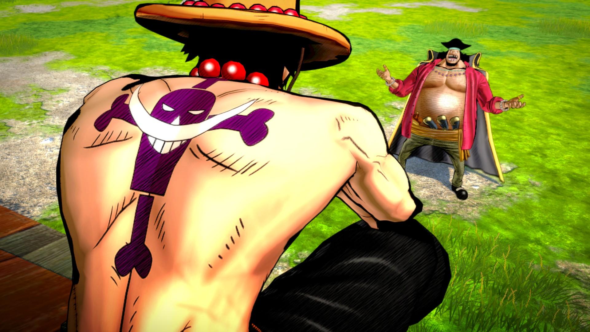 Ukázka hraní za Marshalla D. Teache v One Piece: Burning Blood 120026