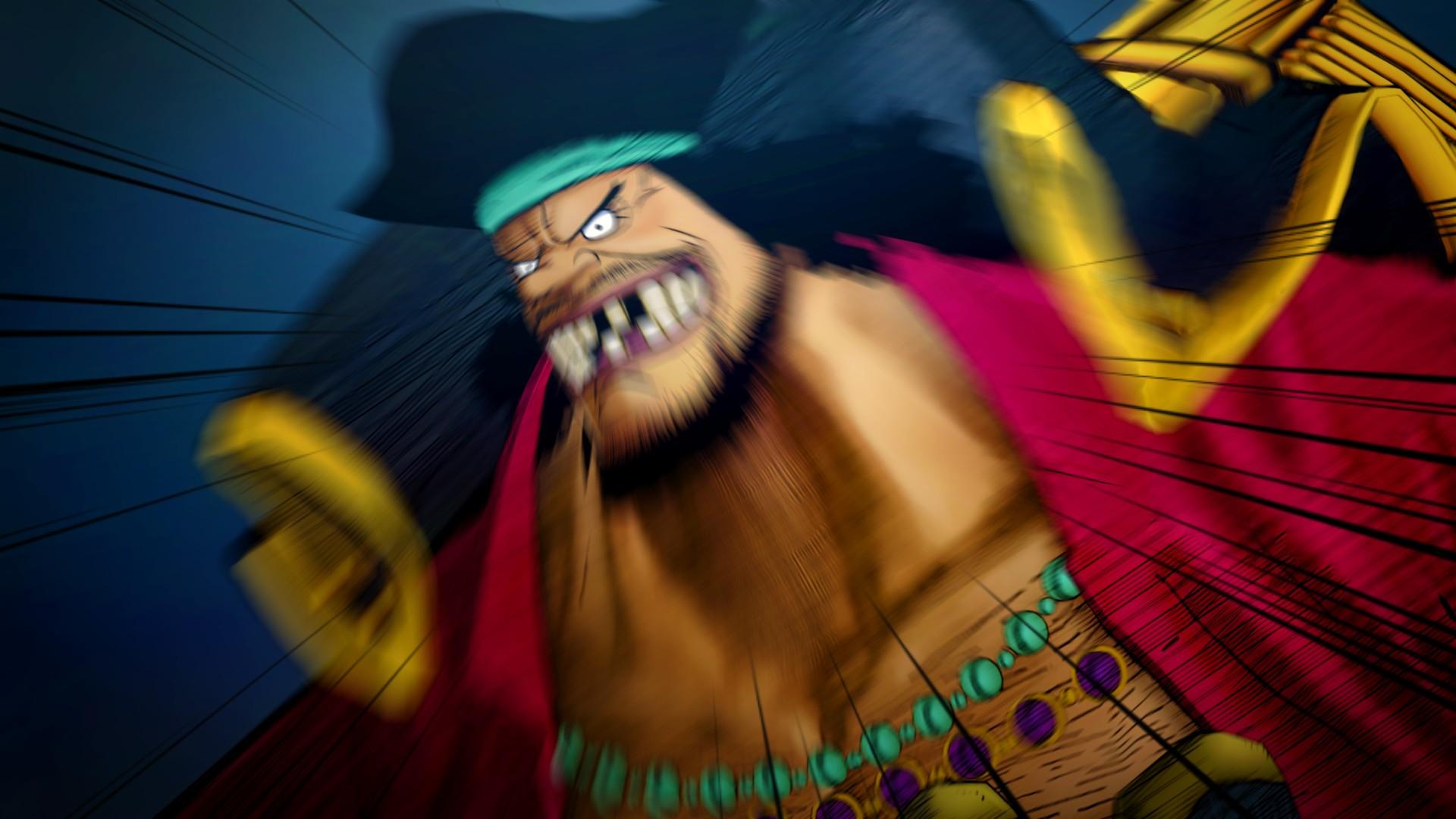 Ukázka hraní za Marshalla D. Teache v One Piece: Burning Blood 120029