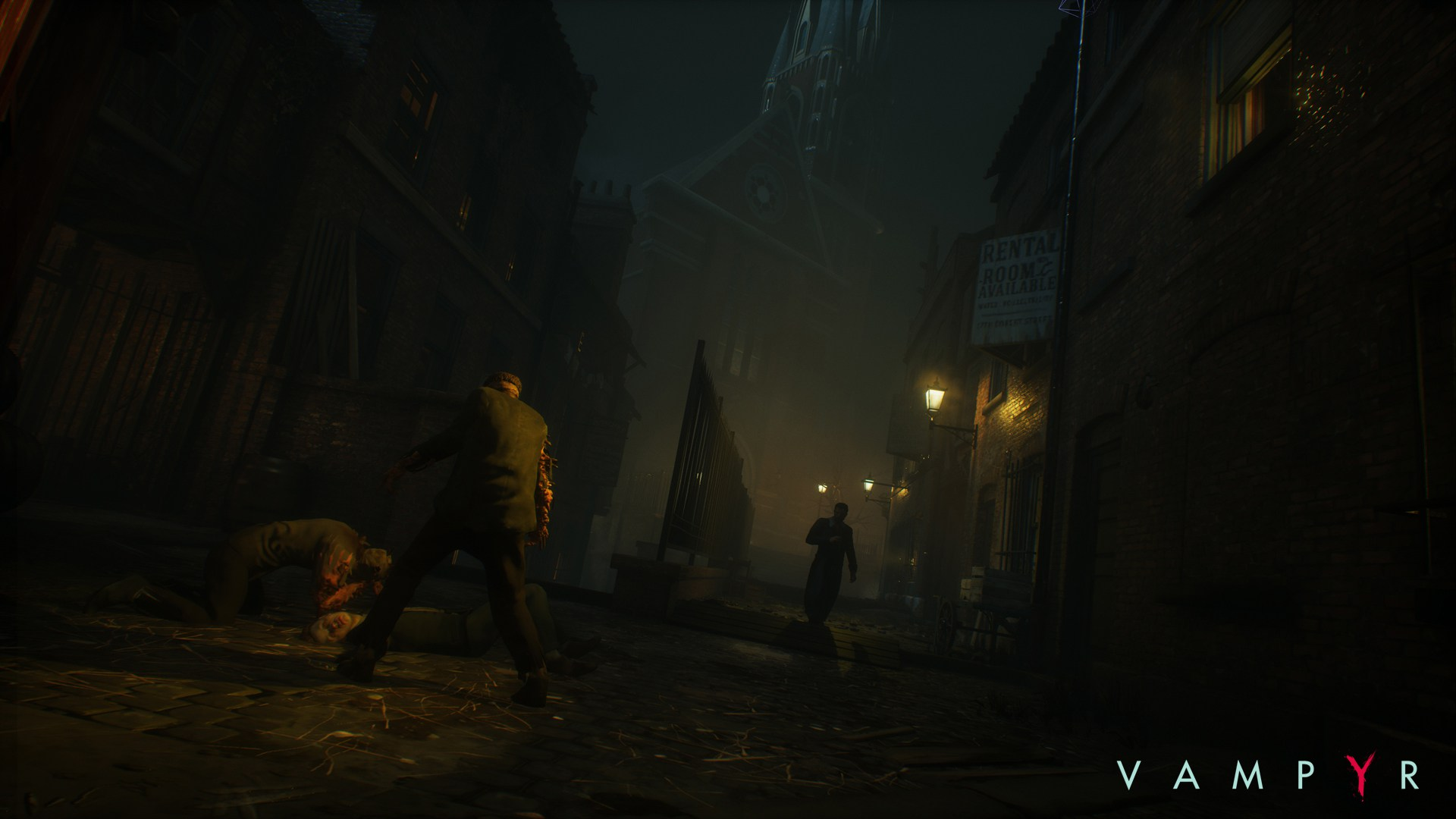 Temný Londýn na obrázcích z RPG akce Vampyr 120051