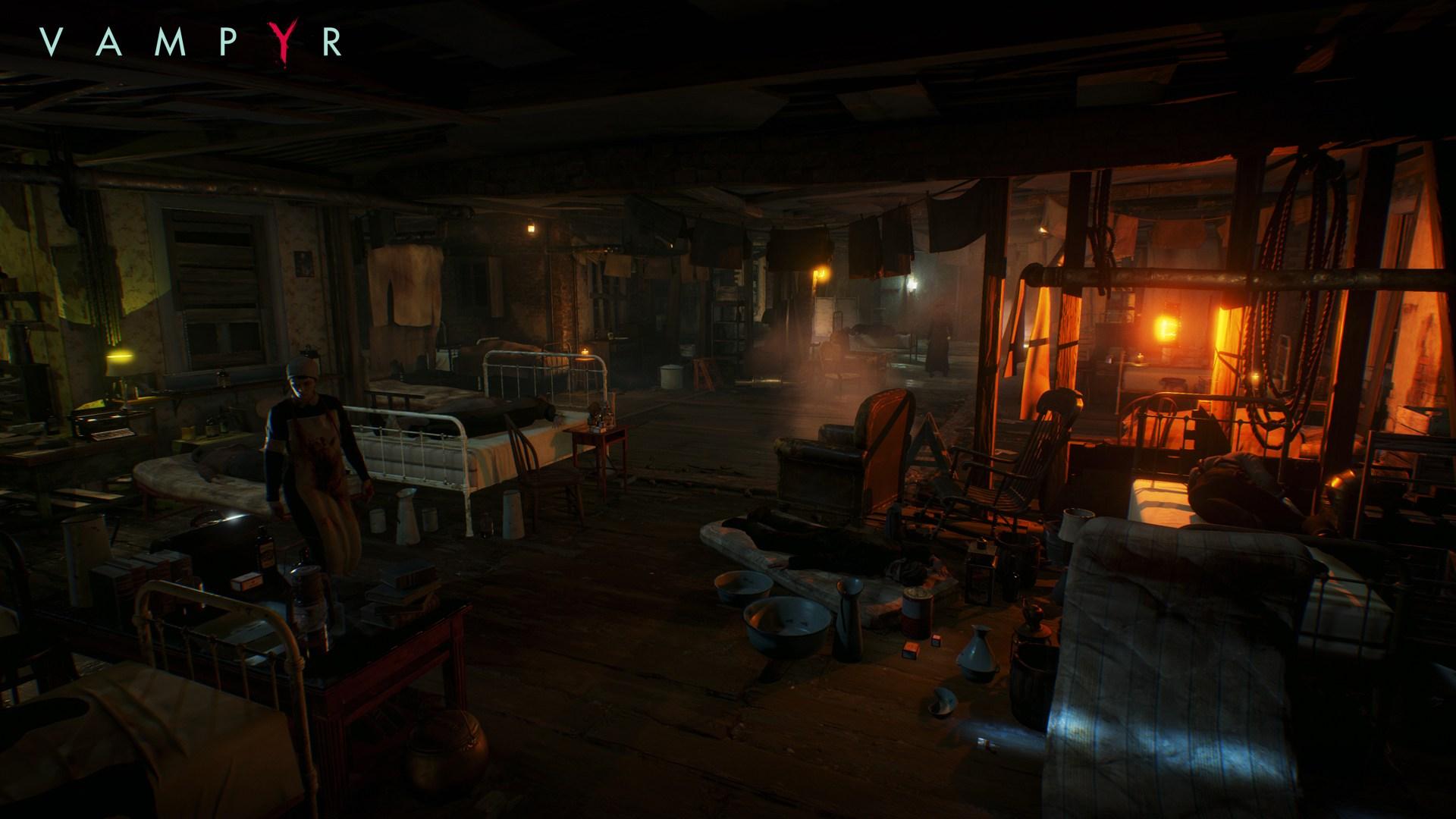 Temný Londýn na obrázcích z RPG akce Vampyr 120052