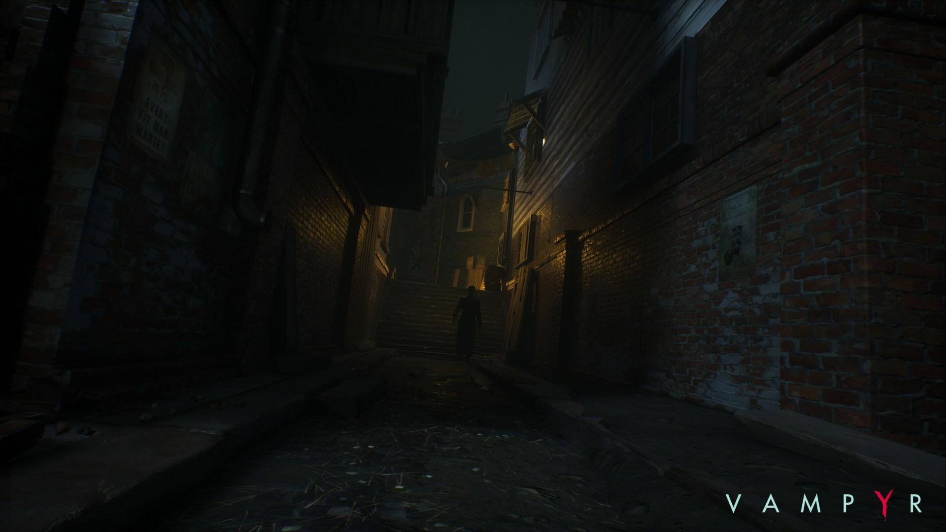 Temný Londýn na obrázcích z RPG akce Vampyr 120053