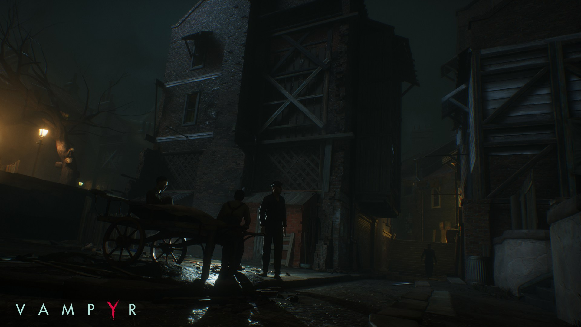 Temný Londýn na obrázcích z RPG akce Vampyr 120054