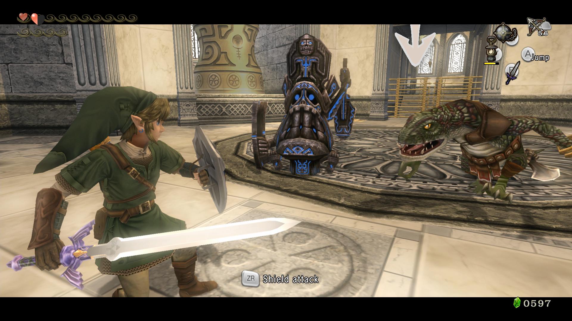 The Legend of Zelda: Twilight Princess HD – světlo a stín 120089