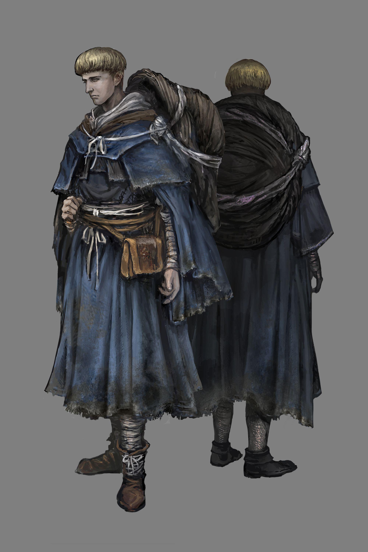 Brutální obrázky a artworky z Dark Souls 3 120105